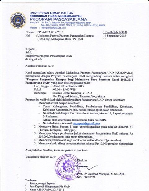 Undangan P2K Maba PPs UAD Gasal 2015-web